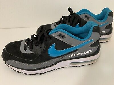 on sale 46a41 cb6b6 Nike Air Max 2013 Men s Size 13 317551-042 Blue Black White Shoes Sneakers