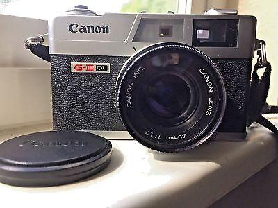 Дальномерные камеры Canon Canonet QL17 GIII