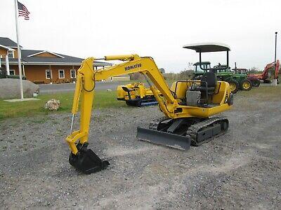 Komatsu Pc10-7 Used Mini Excavator Dozer Tractor Diesel Rubber Tracks Blade
