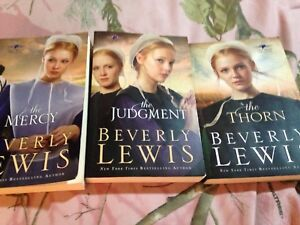 Beverly Lewis 3 book Amish series