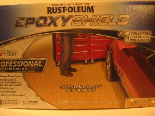 RUST-OLEUM 238466 EPOXYSHIELD™ Floor Coating Kit,2 gal, Dunes Tan