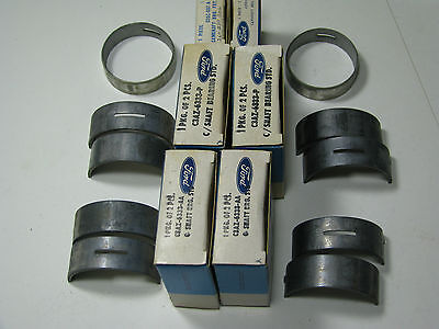 NOS 1960S FORD 260.289,302 CAM BEARINGS LOT 6 BOXES