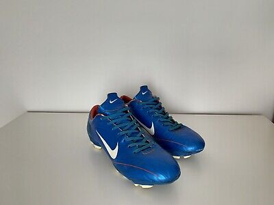 Nike R9 Ronaldo Mercurial Vapor II Photo Blue FG Football Soccer Boots UK 9