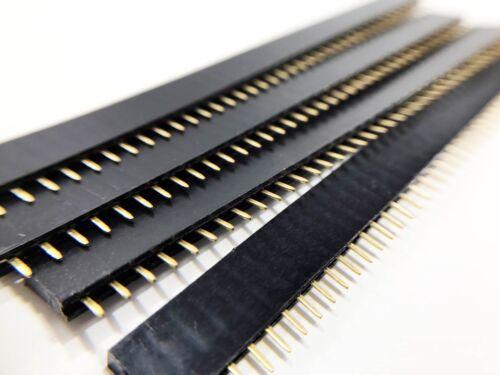 10pcs Female Header 1x40 2.54mm 40 Pin PCB Through Hole Arduino and Pi