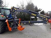 Maskiner Kran 6,4 m Teleskop Rückewagen Forstkran Rückekran BBS Rheinland-Pfalz - Brockscheid Vorschau