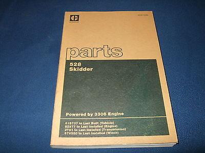 Cat Caterpillar 528 Skidder Parts Book Manual Sn 51s737-up
