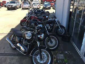 Sell your bike Motorcycle buyer Yamaha XVS650 Triumph Harley Biggera Waters Gold Coast City Preview
