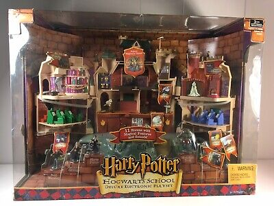 Harry Potter  Hogwarts School Deluxe Electronic Playset New In Box, usado comprar usado  Enviando para Brazil
