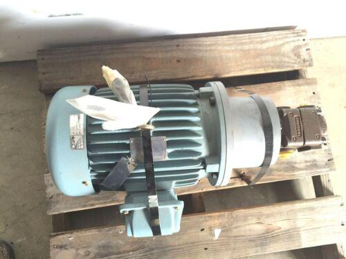 Westinghouse Bucher Hydraulic QX32-010R09 Gear Pump 5 HP, 575V 1155 rpm Motor