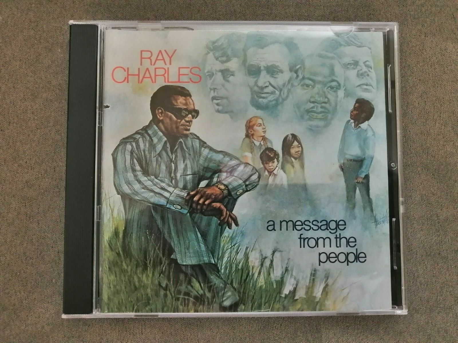 A Message From The People By Ray Charles CD, Jul-2011, Concord  - $36.00