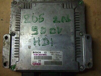 CALCULATEUR DÉCODÉ EXPERT JUMPY SCUDO 2.0 HDI 0281011342 9651175080 EDC15C2