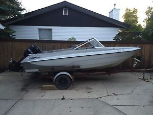 1980 17ft Glastron, 115hp outboard