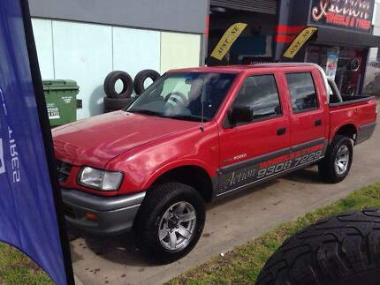 Holden rodeo,ute,dual cab,auto,rego,cheap Campbellfield Hume Area Preview