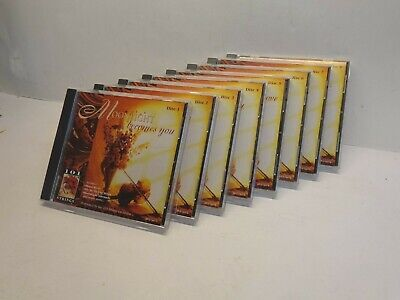 101 Strings Orchestra 8 CD set Romantic love -