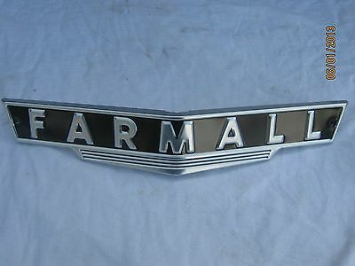 IH Farmall H or M Front emblem on Rummage