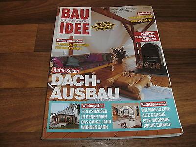 RATGEBER  BAU IDEE 4/93 -- DACH-AUSBAU-WINTERGARTEN-KÜCHENPLANUNG-RENOVIERUNG
