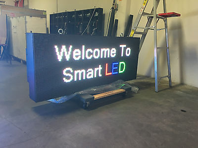 2x6 Led Full-color Wireless 10mm Programmable Message Sign Outdoor 2x6