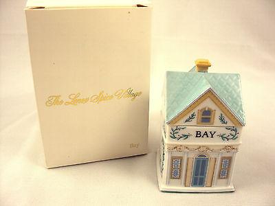 Lenox Spice Village Bay Spice Jar 1989 Vintage Victorian NIB Free Shipping Lenox Village Spice Jar