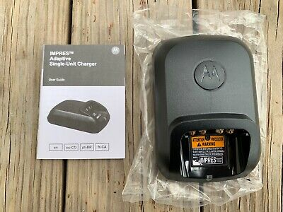Brand New Motorola Impres Wpln4243a Adaptive Single Unit Radio Charging Base
