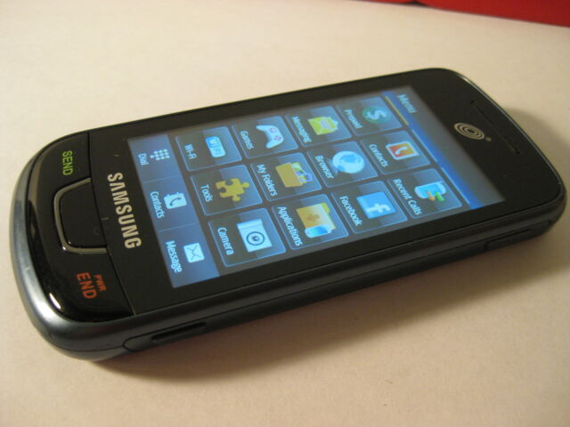 Samsung SGH T528G Straight Talk GSM 3G WIFI TOUCH cellular phone PLEASE READ