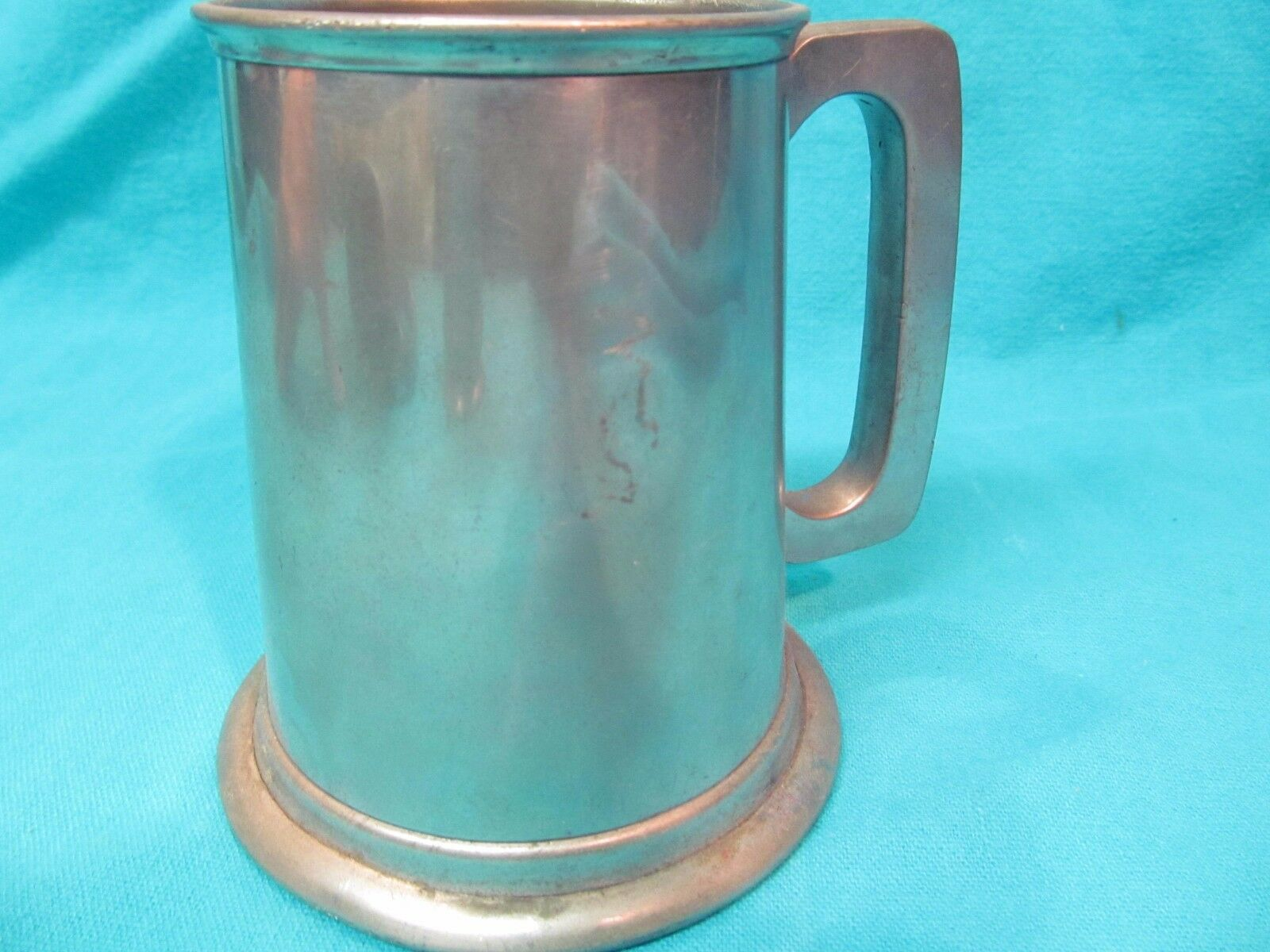 HINERS SHEFFIELD ENGLAND PEWTER TAVERN MUG 1961 AETNA INSURANCE BIG TOP
