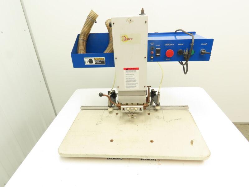 Thompson Pneumatic Pro Hinge Insertion Machine Boring Fastec Cabinet Door 115V