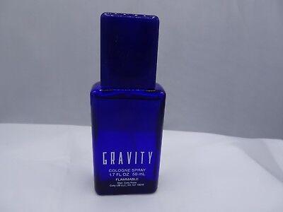 Gravity Cologne Spray For Men By Coty  1 7 Oz