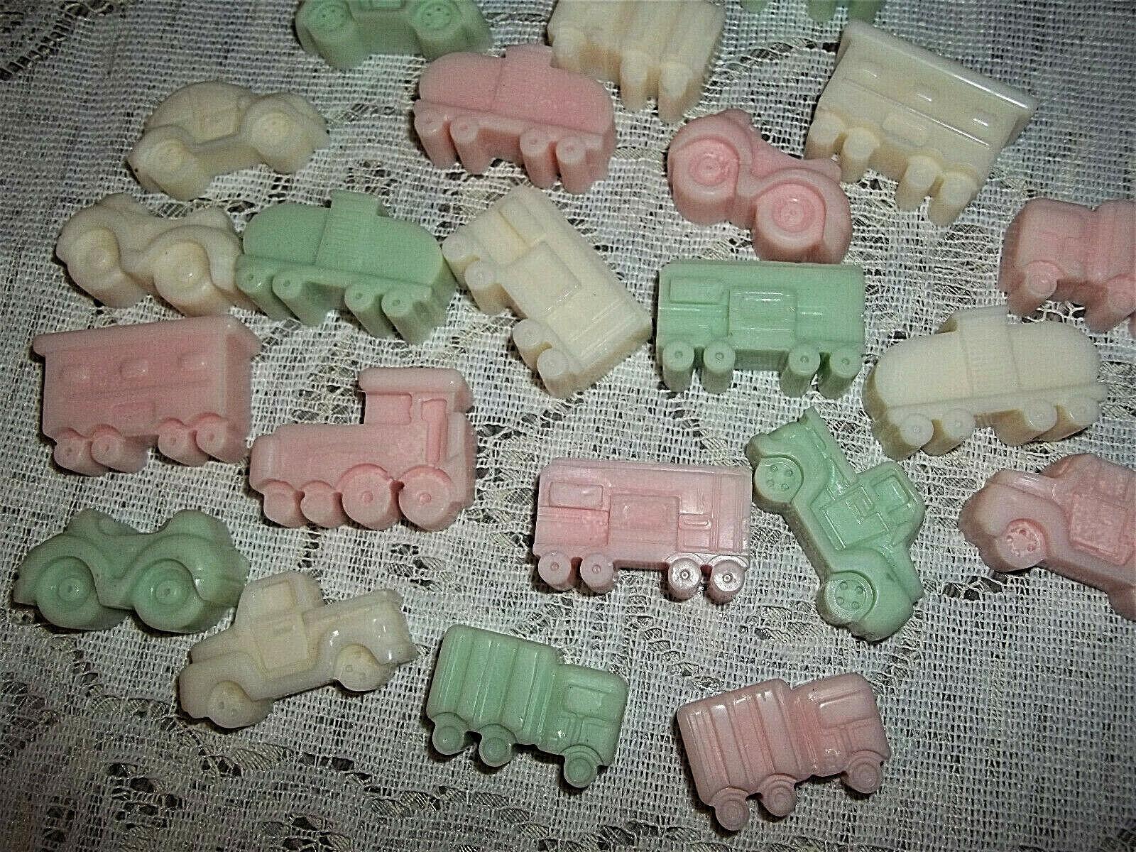 20 soy wax melting tarts, Vehicle Mix, 230+ A-F scents, FREE