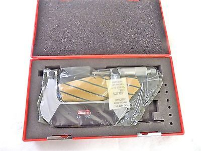 Spi Screw Thread Micrometer 2-3 Range 0.0010 Graduation Satin Coated 13-516-0