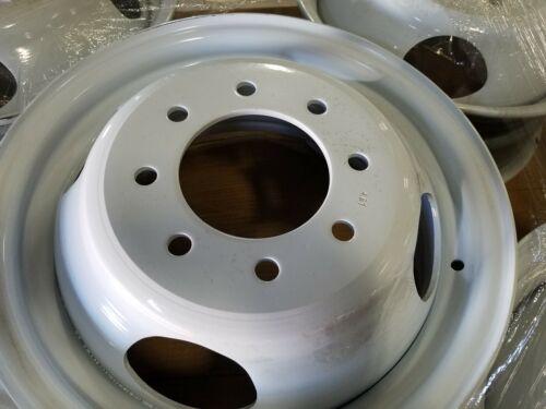 "Dually Trailer / Truck Wheel  Powdercoat  16x6  8x6.5"" Circle 16"" x 6"" 4.61 CB"