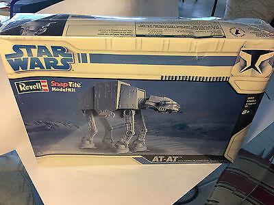 New Revell Star Wars AT-AT Snap-Tite Model Kit 2008 ***RARE***