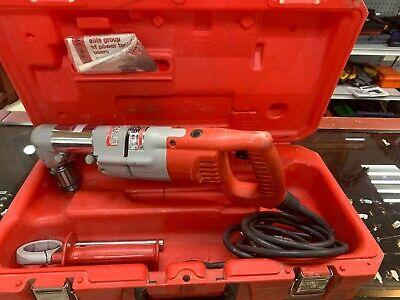 Milwaukee 1107-1 Heavy Duty Corded 12 Right Angle Drill Wcase
