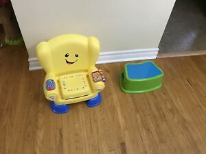 Fisher price smart stages chair and stool