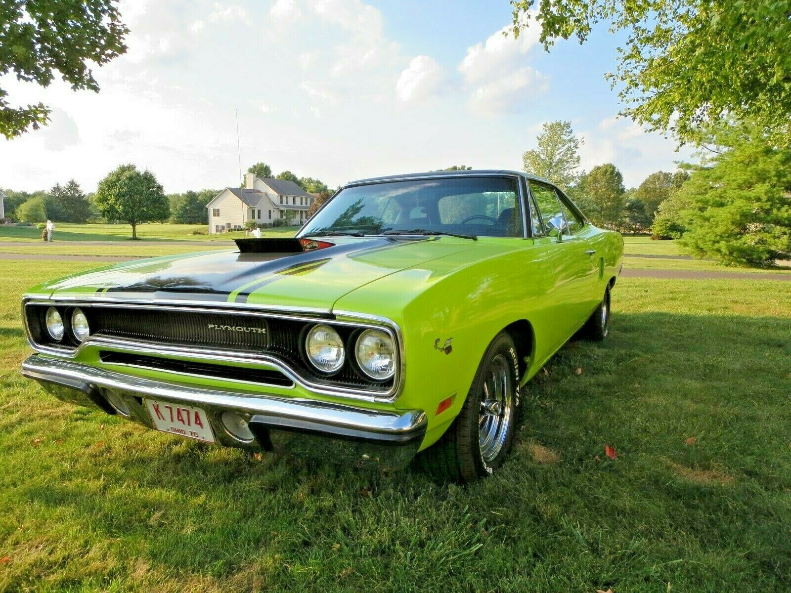 1970 Plymouth Road Runner True RM23 Car 440 Big Block with Air Grabber Automatic