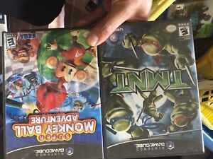 Game cube games 10$ for bought