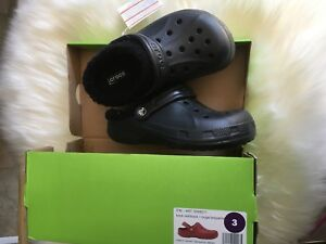 Kids fleece lined crocs sized 2,3 & 8/9 for $15 each