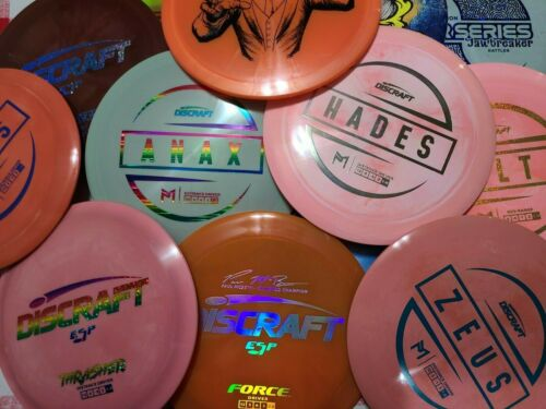 """""""Used"""" Discraft Discs Various assortment of lightly used discs."""