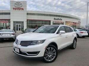 2016 Lincoln MKX Reserve - No Accidents / Off-Lease / One-Owner