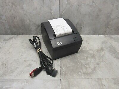 Hp A799-c40w-hn00 Pos Thermal Receipt Printer W 6 Powered Usb Cable