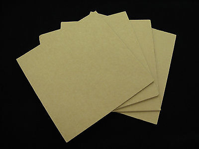 50 - 12.25 X 12.25 Corrugated Filler Pads For Lp Record Mailer Boxes