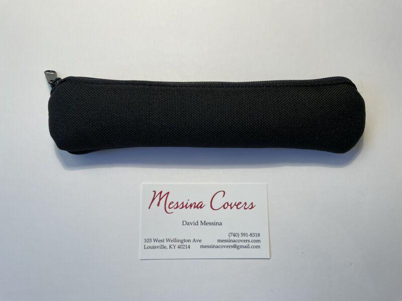 Messina Covers Piccolo Trumpet Leadpipe Case Pouch Bag Black