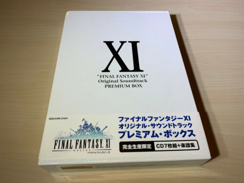 Final Fantasy XI 11 Original Soundtrack Premium Box Complete Mint