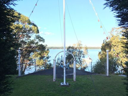 Big two bedroom granny flat waterfront