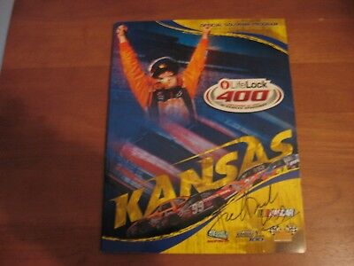 2007 Official Souvenir Program Lifelock 400 At Kansas Speedway
