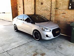 2016 hyundai accent Arndell Park Blacktown Area Preview