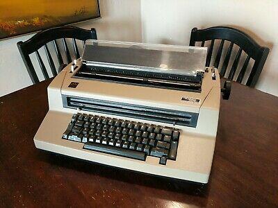 Ibm Correcting Selectric Iii Typewriter Seller Refurbished Works