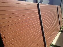 Aluminium Fencing Slats - Light Oak Harrison Gungahlin Area Preview