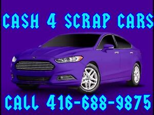 ✅JUNK SCRAP & USED CARS ✅WE PAY CASH MONEY CALL 4166889875