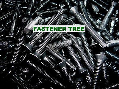 STAINLESS STEEL 1//4-20 X 3 Trailer Floor Floorboard Deck Screws T-27 1//4x3 100