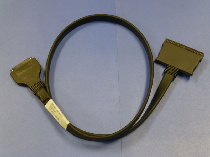 National Instruments PSH27-50F-D1 Cable for NI PCMCIA DAQCard-DIO-24, 182807B-01